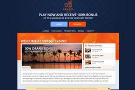 Screenshot Oranje Casino