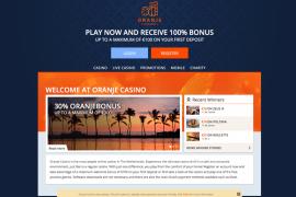 Screenshot Oranje Casino