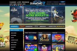 screenshot Diamond 7 Casino
