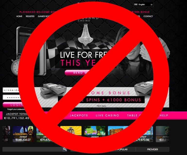 playgrand casino online