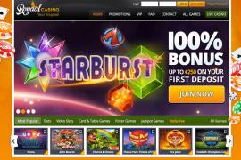 screenshot Royaal Casino