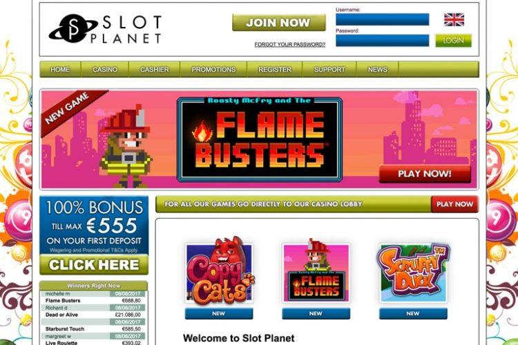 Laatste keer Cash Spins Friday in Slot Planet