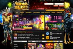 screenshot videoslots.com