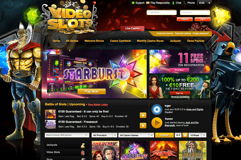 video slots gratis holland