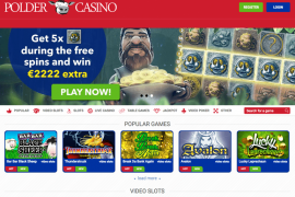 Polder Casino Slider