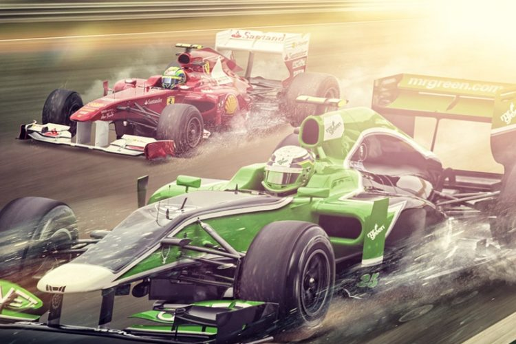 Formule 1 Race Battle bij Omnislots