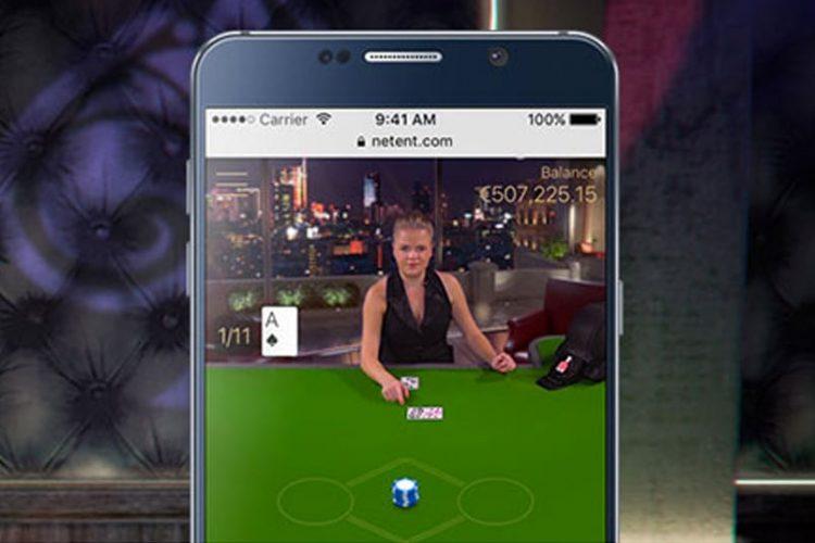Live Free Bet Blackjack nieuw van Evolution Gaming