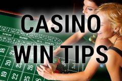 Casino win tips