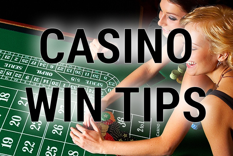 how to win at the casino