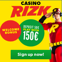Welcome offer Guts Casino