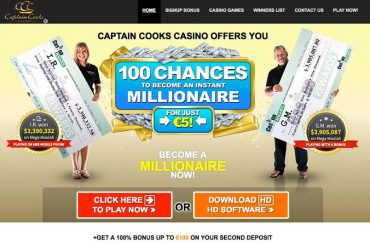 Captain Cooks Casino Uitgelicht