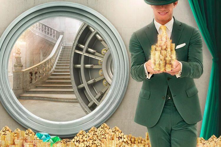Free spins en cash van Mr Green