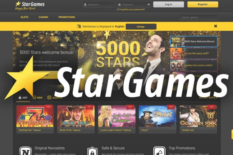 Stargames Casino Review 2021