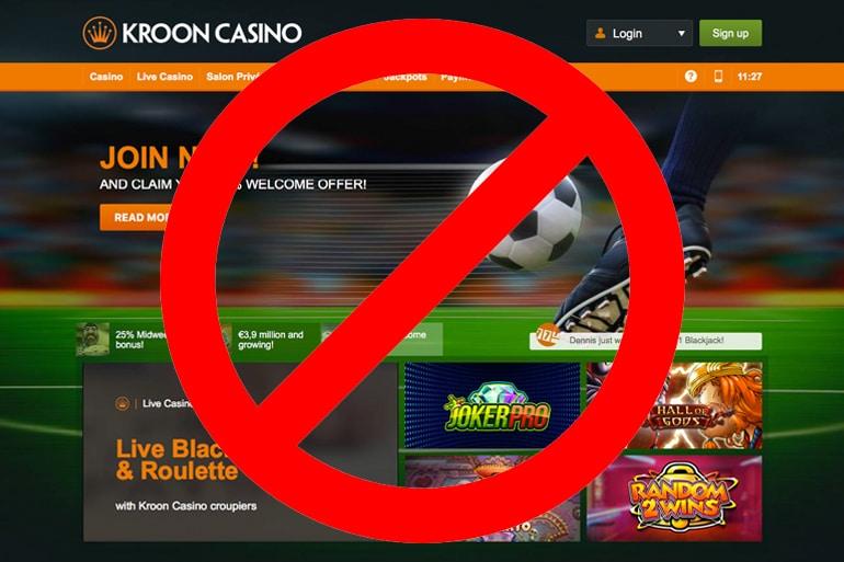 Kroon Casino Screenshot
