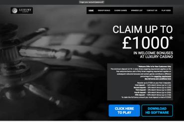 Screenshot Luxury Casino