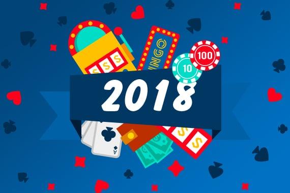 2018: Een terugblik op een bewogen casinojaar