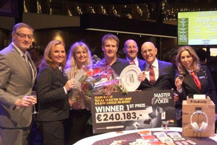 Pokertoernooi levert Alberto Stegeman veel geld op