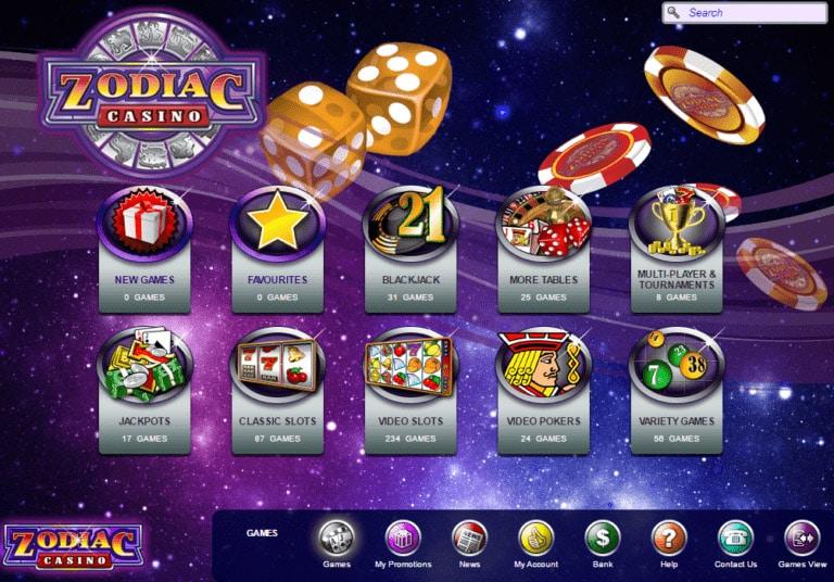 Lobby Zodiac Casino