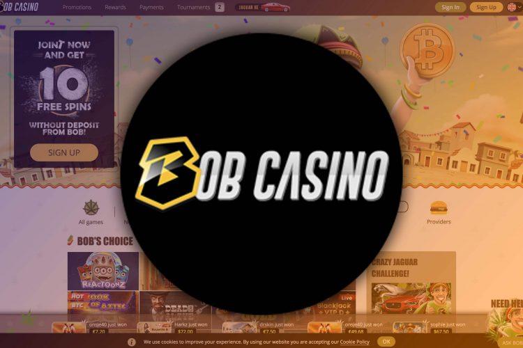 Promokalender met elke dag actie in Bob Casino