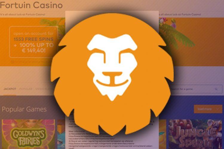 Return van Fortuin Casino per 1 oktober 2021