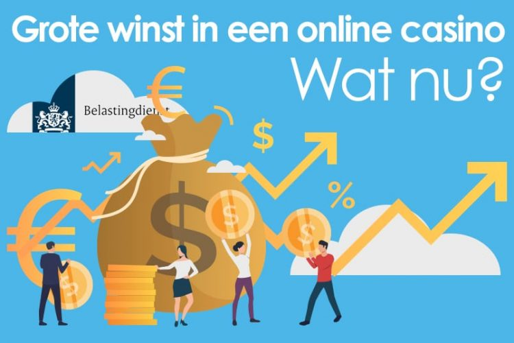 Grote winst in een online casino: wat nu?