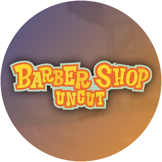 Logo Barber Shop uncut