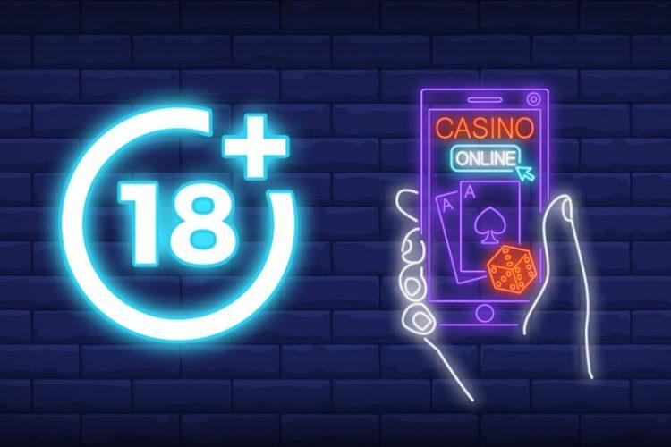 Leeftijd check in een online casino