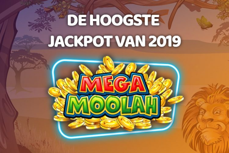 Mega Moolah Jackpot 2019 InfoGraphic