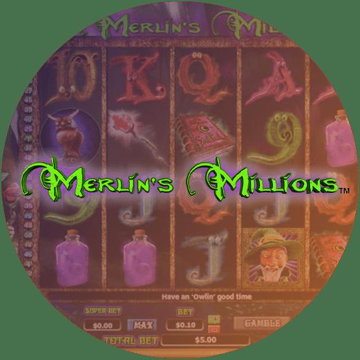 Logo Merlins Millions