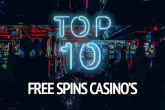 top 10 free spins casino's