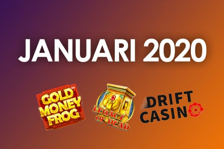 Casino updates januari 2020