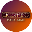 Logo Lightning Baccarat