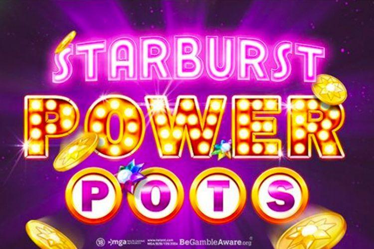 NetEnt gaat nieuw concept lanceren: Starburst PowerPots!