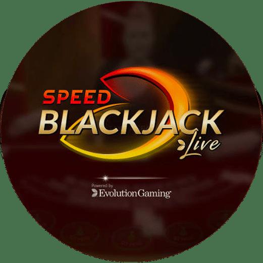 Logo Live Speed Blackjack