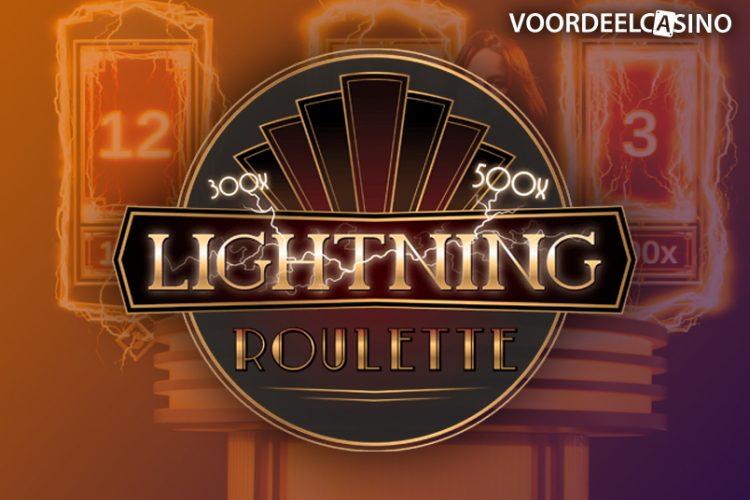 Evolution Lightning Roulette in landbased casino