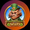 Logo Leprechaun Goes Wild
