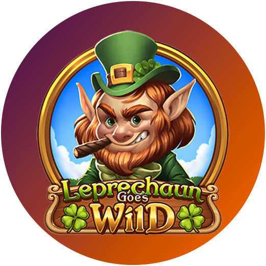 Logo Leprechaun Goes Wild