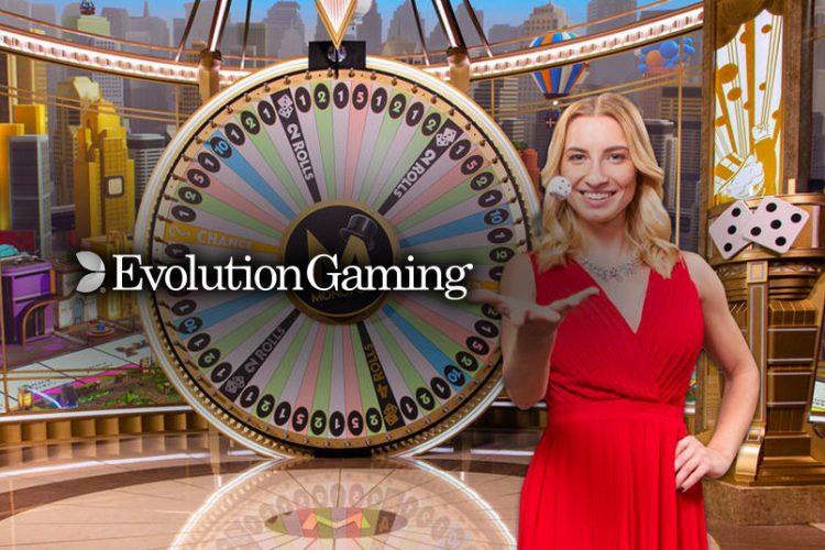 De gameshows van Evolution Gaming