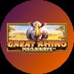 Logo Great Rhino Megaways