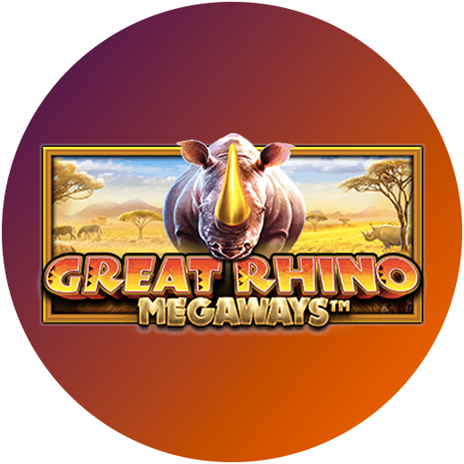 Logo Great Rhino Megaways