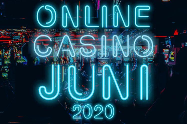 Online casino's juni 2020