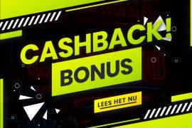 cashback bonus casino's