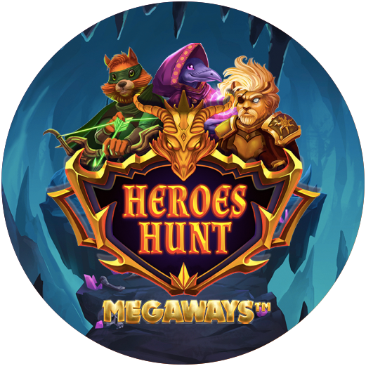 Logo Heroes Hunt Slot
