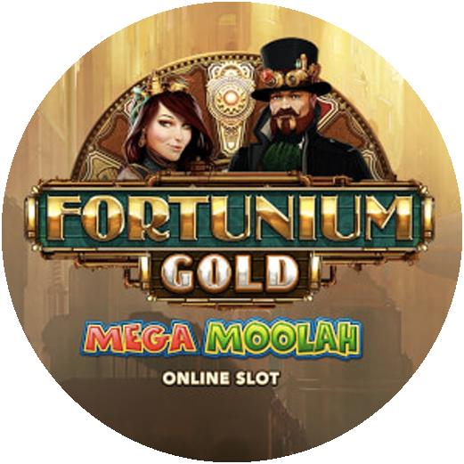 Logo Fortunium Gold Mega Moolah