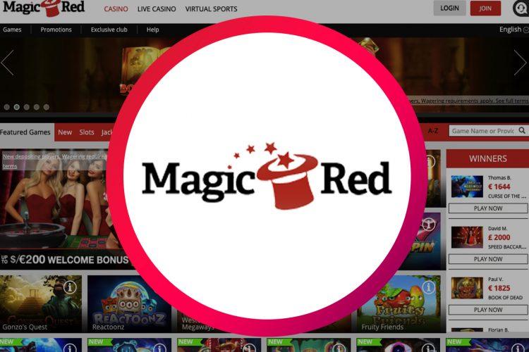 Skywind promo in MagicRed Casino