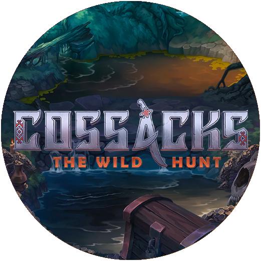 Logo Cossacks The Wild Hunt Slot