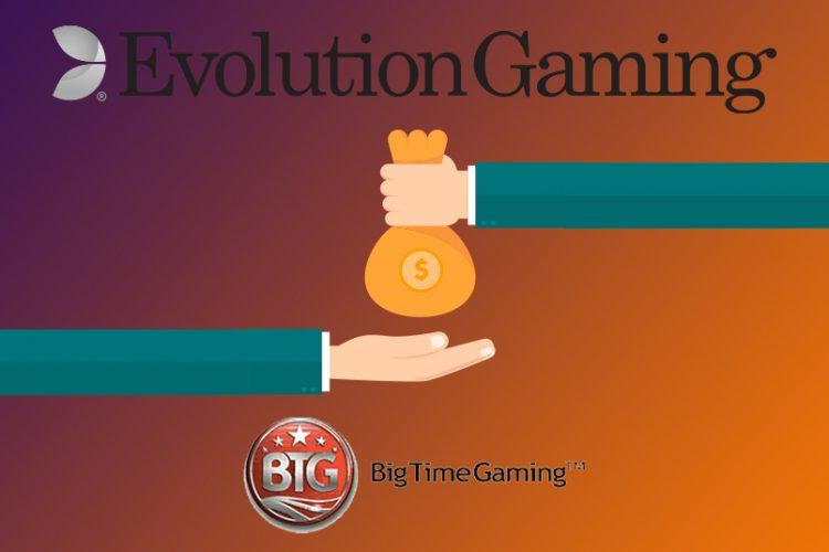 Overname van Big Time Gaming door Evolution