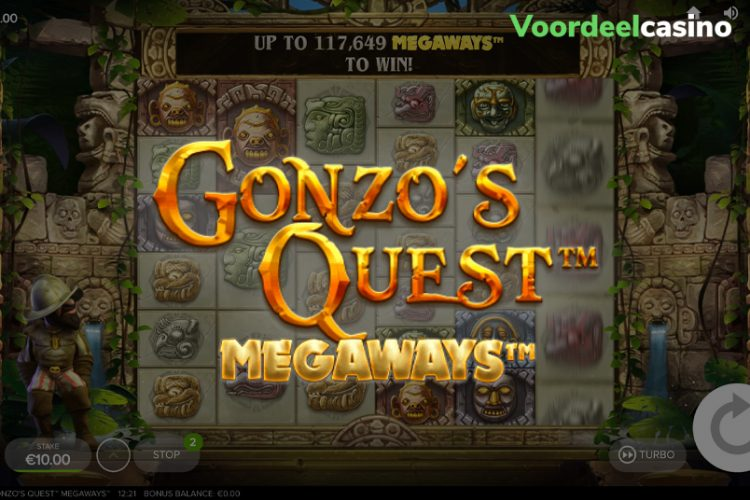 Gonzo Mania toernooi in MagicRed Casino