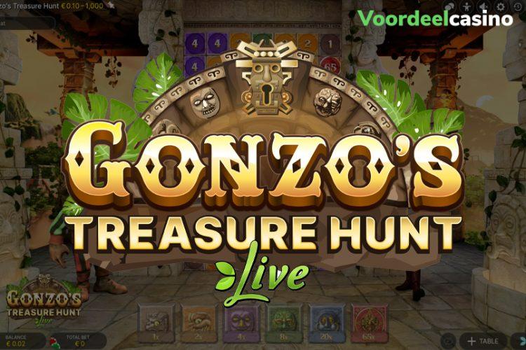 Gonzo's Live Game promotie in Buck Casino