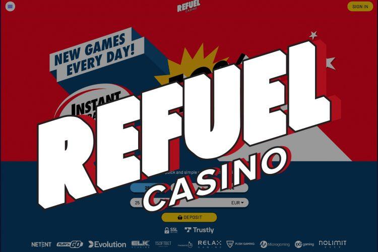 Cluster Slide toernooi in Refuel Casino